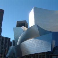 disney concert hall, Лос-Анжелес