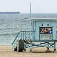 40th St. Lifeguard Station, Manhattan Beach, California, Манхаттан-Бич