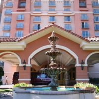 Embassy Suites Fountain up close, Милпитас