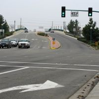 Intersection of; P St & Needham St, College Ave & 10th St, 12/2012, Модесто