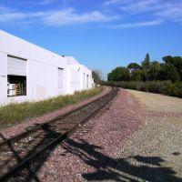 Myrtle Ave Railroad, Duarte, Монровиа