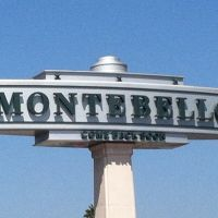 Montebello City Sign, Монтебелло