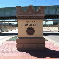 Commerce City Sign, Монтебелло