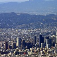 aerial view Los Angeles 1, Монтебелло