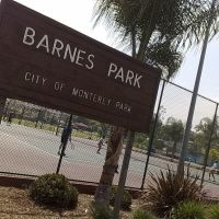 Barnes Park tennis courts., Монтерей