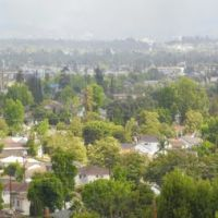 Looking North Alhambra and Pasadena, Монтерей