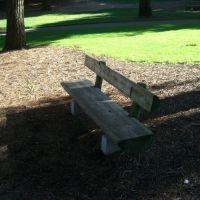 log bench, Моунтайн-Вью
