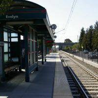 Light Rail Station - Evelyn, Моунтайн-Вью