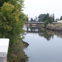 Napa River from Napa River Inn, Напа