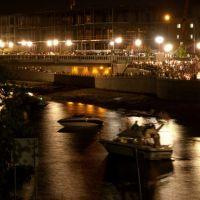 Napa River at Night, Напа