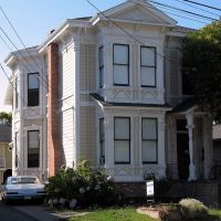 Capt. George Pinkham House, 529-531 Brown St., Napa, CA, Напа