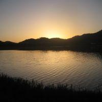 sunset at rush creek, Новато