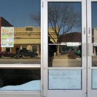 Empty storefront, 319 W Norfolk Ave, Norfolk, Nebraska, Норволк