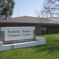 Norfolk Senior Citizens Center, N 4th St, Norfolk, Nebraska, Норволк