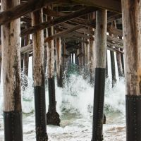 Dưới Chân Cầu Newport Beach (by Hoàng Khai Nhan), Ньюпорт-Бич