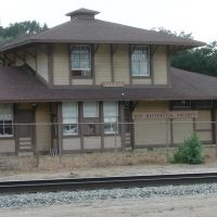Saugus Train Station, Newhall, CA, Ньюхалл