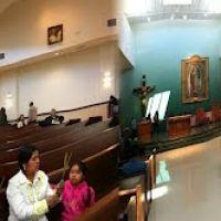 Adentro de La Nueva Iglesia de Nuestra Virgen Santa Maria de Guadalupe, en Oxnard California, Окснард