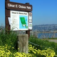 Cesar Chavez Park was formerly the Berkeley city dump, Олбани