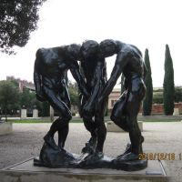 2010-12-16: The Three Shades, Rodin Sculpture Garden, Stanford University, Пало-Альто