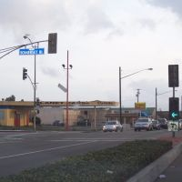Lakewood & Somerset Intersection Bellflower CA, Парамоунт