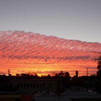 sunset, Петалума
