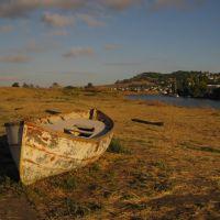 Boat in Petaluma., Петалума