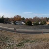Panorama of westbound on ramp to Hwy-50 @ Zinfandel Rd., Ранчо-Кордова