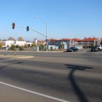 Intersection of Zinfandel Dr. & westbound Hwy-50 off ramp (looking west), Ранчо-Кордова