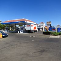 Chevron gas station on Folsom near Routier., Ранчо-Кордова