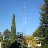 Radio tower in the neighbor hood., Ранчо-Кордова