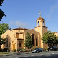 Methodist church,broadway,redwood city, Редвуд-Сити