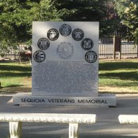 Sequoia veterans memorial,Redwood City, Редвуд-Сити