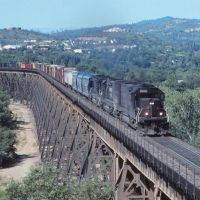 Redding Trestle, back in the day, Реддинг