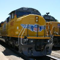 Union Pacific SD59MX at Redding, CA, Реддинг
