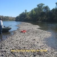 Sacramento River Site 2 (Right Bank) at Flow 5902 cfs 10/7/2009, Реддинг