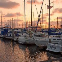 Sunset at King Harbor, Редондо-Бич