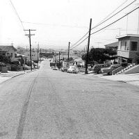 3rd Street - looking towards N Pacific Highway - Hermosa Beach - 1971, Редондо-Бич