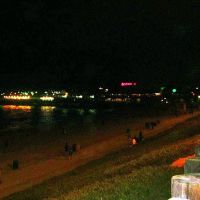 Redondo Beach Pier night scene, Редондо-Бич
