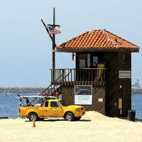 Lifeguard Tower & Vehicle - Redondo Beach - California - USA, Редондо-Бич