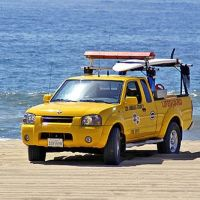 Lifeguard Vehicle - Redondo Beach - California - USA, Редондо-Бич