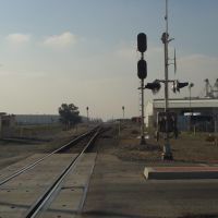 Railroad Crossing at Lilac Avenue - Rialto, CA, Риалто