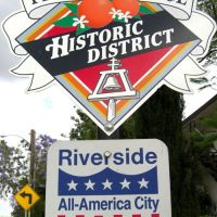 Prospect Place Historic District Sign - Courtesy http://www.theriversidehomesource.com, Риверсайд