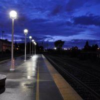 リッチモンドの駅ホーム。。, Ричмонд