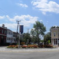 Roundabout in Richmond, VA, Ричмонд