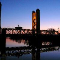 Tower Bridge in Sacramento, Сакраменто