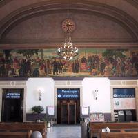 Inside of the Railway Station, Sacramento, Сакраменто