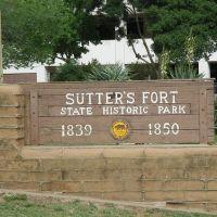Sacramento / Sutters Fort, Сакраменто