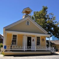 Schoolhouse Museum in Old Sacramento, Сакраменто
