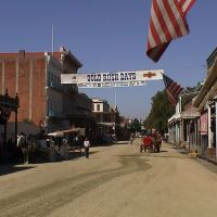 Gold Rush Days in Sacramento, Сакраменто
