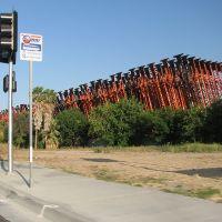 Skeletal Trailers by the Loading Yard, Сан-Бернардино